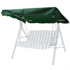 Swing Chair Canopy Replacement Seagrass Dining Top Cover Porch Patio Outdoor Garden Seat