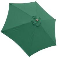 9ft Patio Umbrella Replacement Canopy 6 Rib Outdoor Market ...
