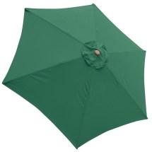 9ft Patio Umbrella Replacement Canopy 6 Rib Outdoor Market
