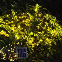60 LED String Solar Light Outdoor Garden Xmas Wedding ...