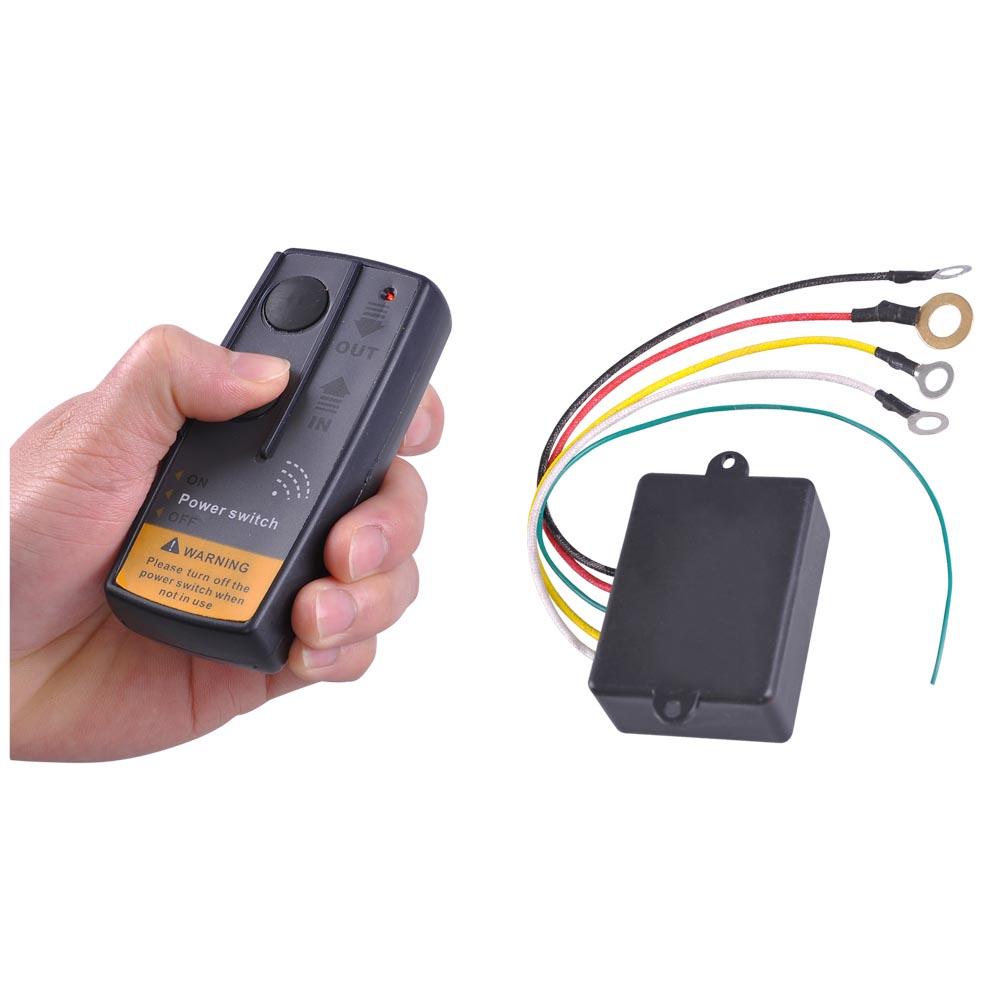 Volt Wireless Remote Control Kit For Truck Jeep Atv Winch Warn Ramsey