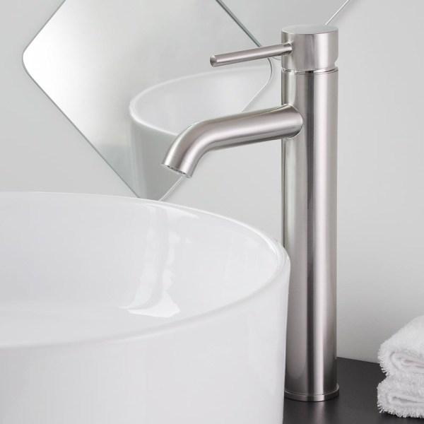 "brushed nickel kitchen sink 12"" Bathroom Vessel Sink Faucet Chrome/Brushed Nickel/Oil"