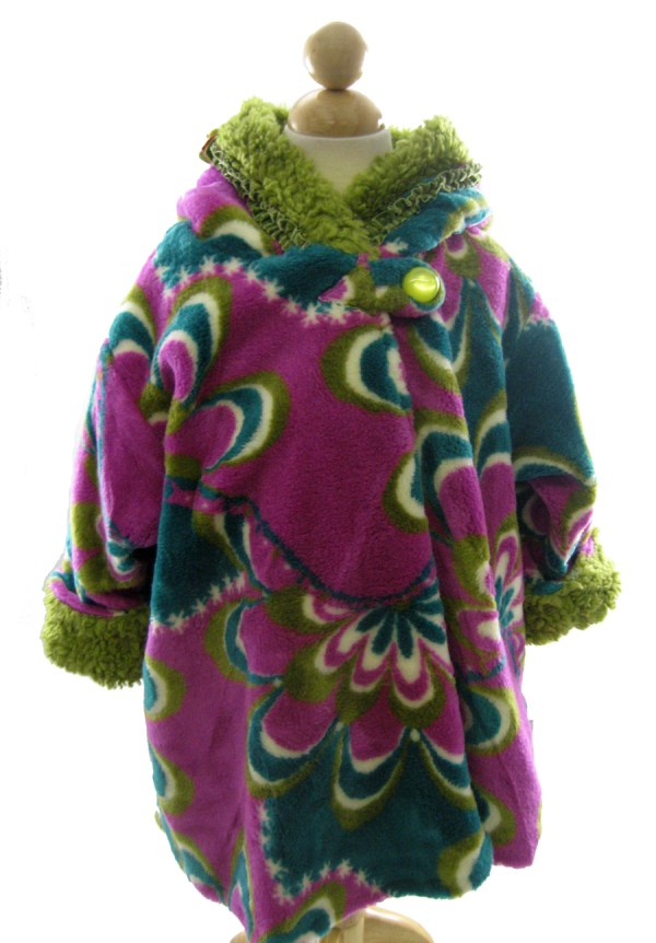 Corky And Company Girl Winter Coat Purple Pucella