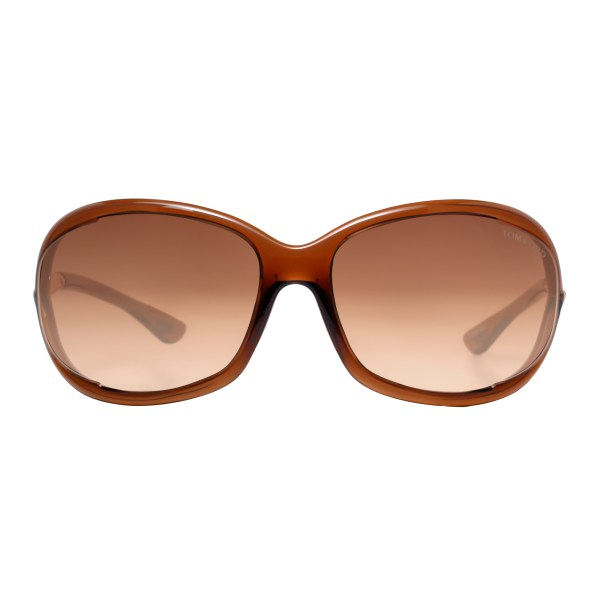 Tom Ford Jennifer Tf008 Soft Squared Sunglasses
