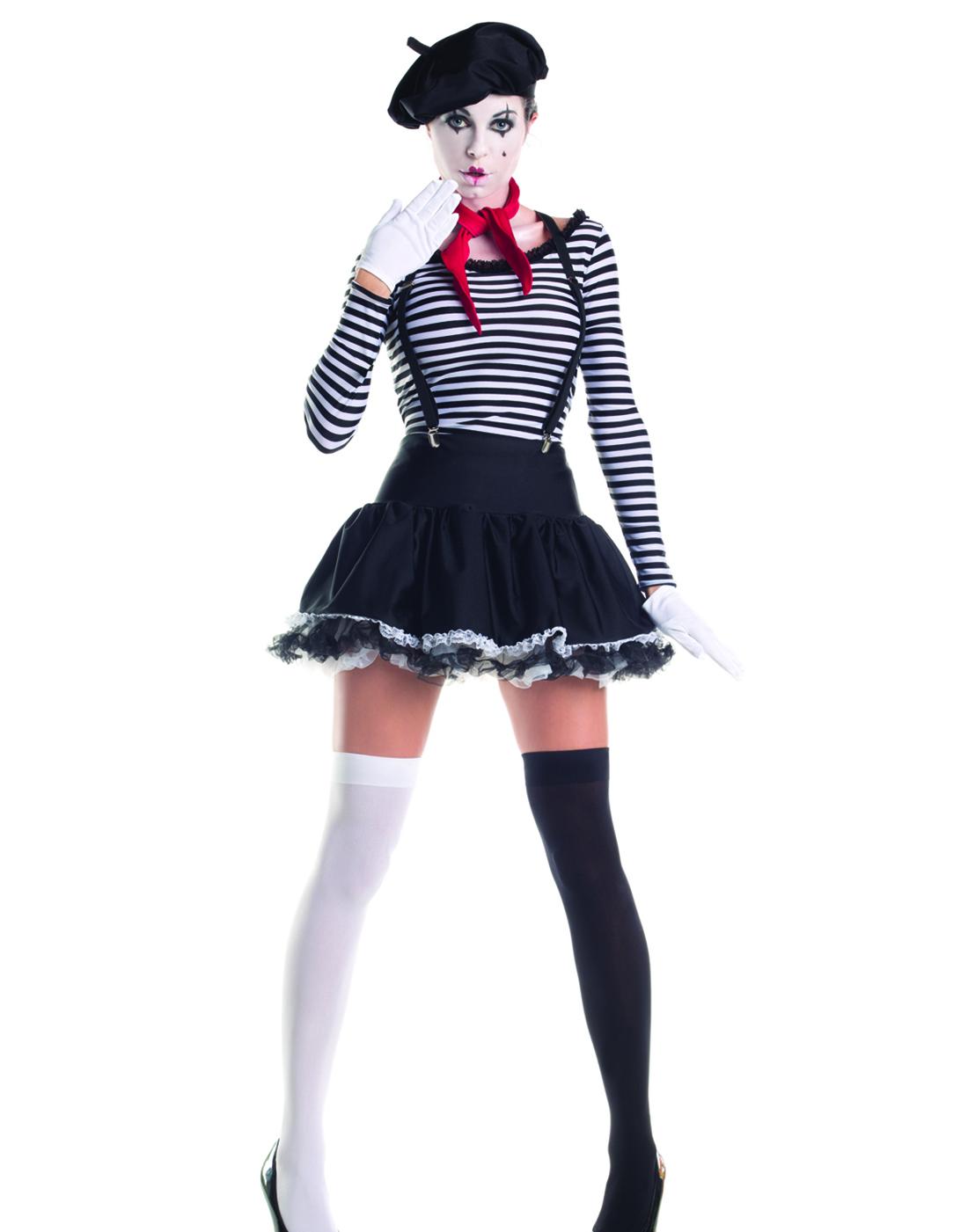 Mesmerizing Mimey French Artist Clown Fancy Womens