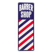 barber tin vintage retro style