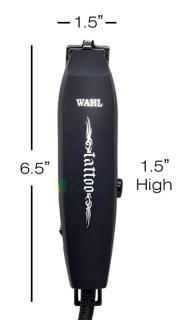 wahl tattoo fine line trimmer hair