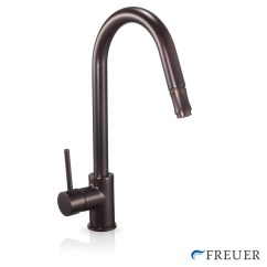 Oil Rubbed Bronze Pull Down Kitchen Faucet Cabinet Supply Store Sink With