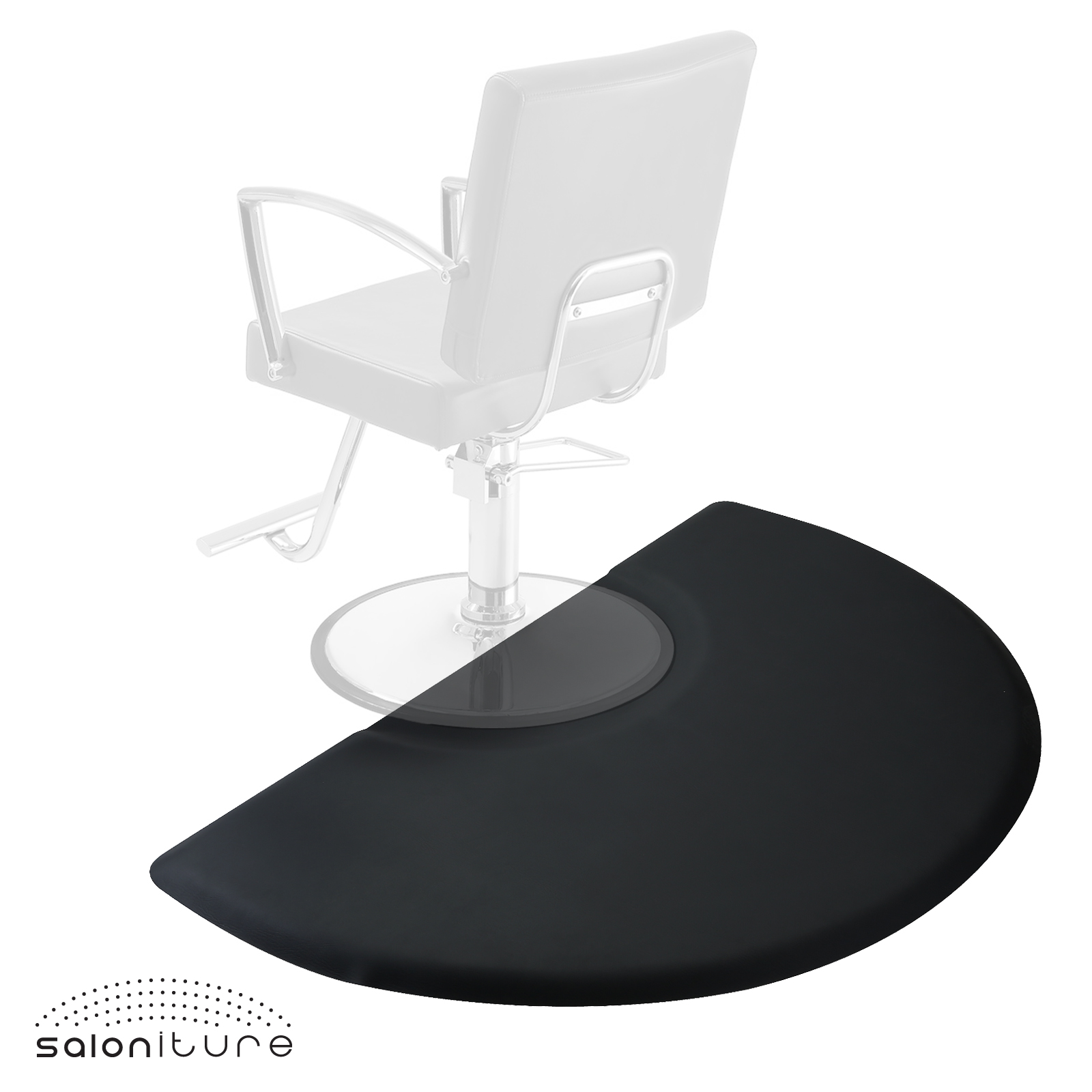 salon chair mat armchair covers for office chairs 3 x 5 barber anti fatigue floor 1 2 quot thick