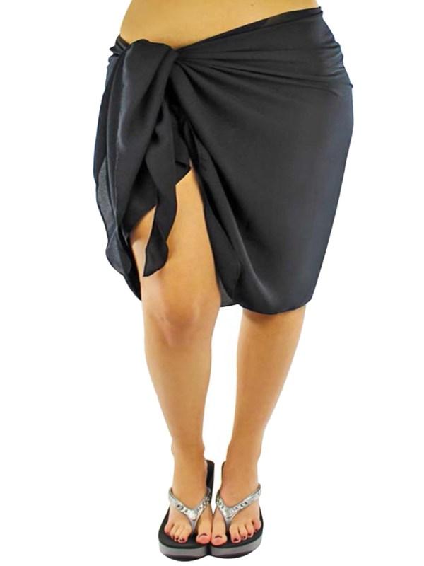Size Sheer Knee Length Cover Sarong