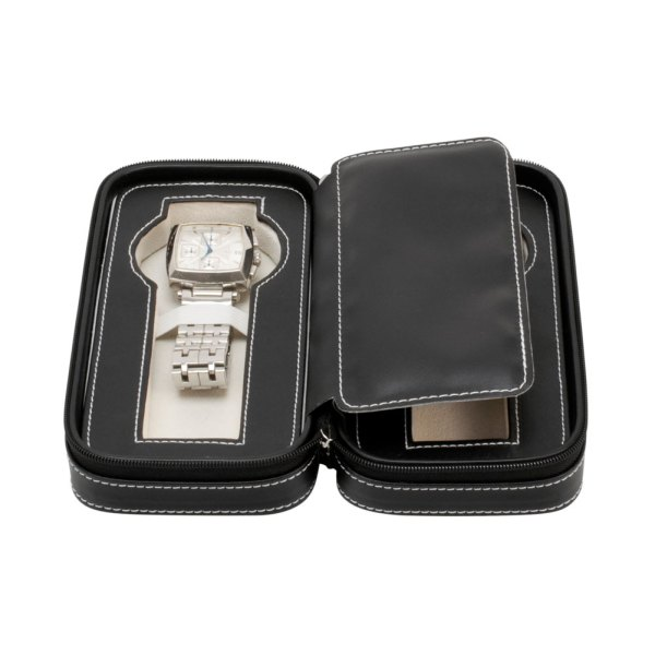 Leather Watch Travel Case