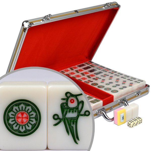 Ymi Chinese Mahjong Mah-jongg Professional Game Set Large
