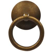 Chinese Brass Hardware Cabinet Ring Pulls 1.6 Set of 2 | eBay