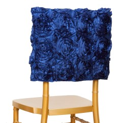 Chair Covers Decorations For Parsons Dining Chairs Navy Blue Cover Square Top Cap Party Wedding Reception Details About Sale