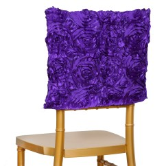 Chair Covers Decorations High Storage Basket Purple Cover Square Top Cap Party Wedding Reception Details About
