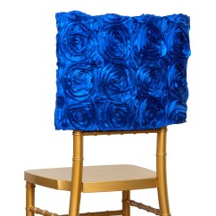 Royal Blue Chair Covers Isokinetics Ball Cover Square Top Cap Party Wedding Reception Details About Decorations Sale