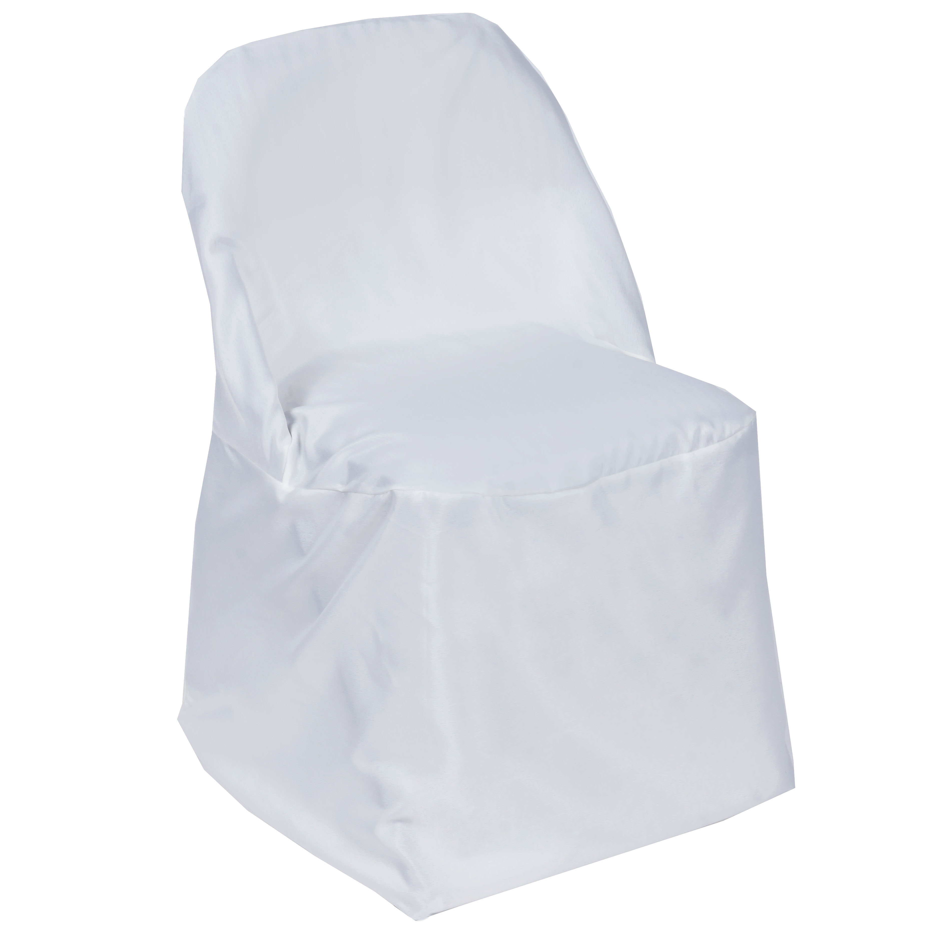 100 pcs POLYESTER ROUND FOLDING CHAIR COVERS Wholesale