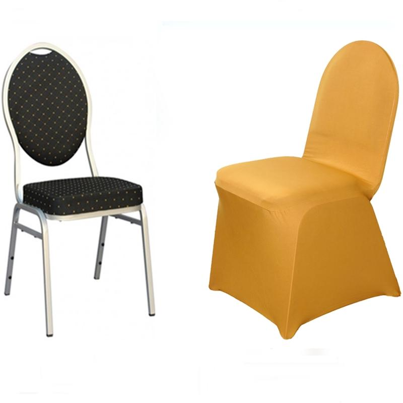 Cheap Chair Covers 100 Pcs Spandex Stretchable High Quality Chair Covers