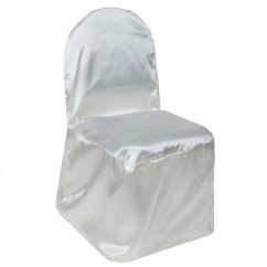 Ivory Wedding Chair Covers For Sale Stacking Banquet Chairs Canada 100 Pcs Satin Wholesale Party