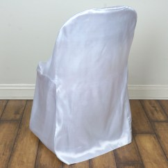 Cheap Chair Cover Decorations Swivel Couch 100 Pcs Satin Folding Covers Wholesale Wedding