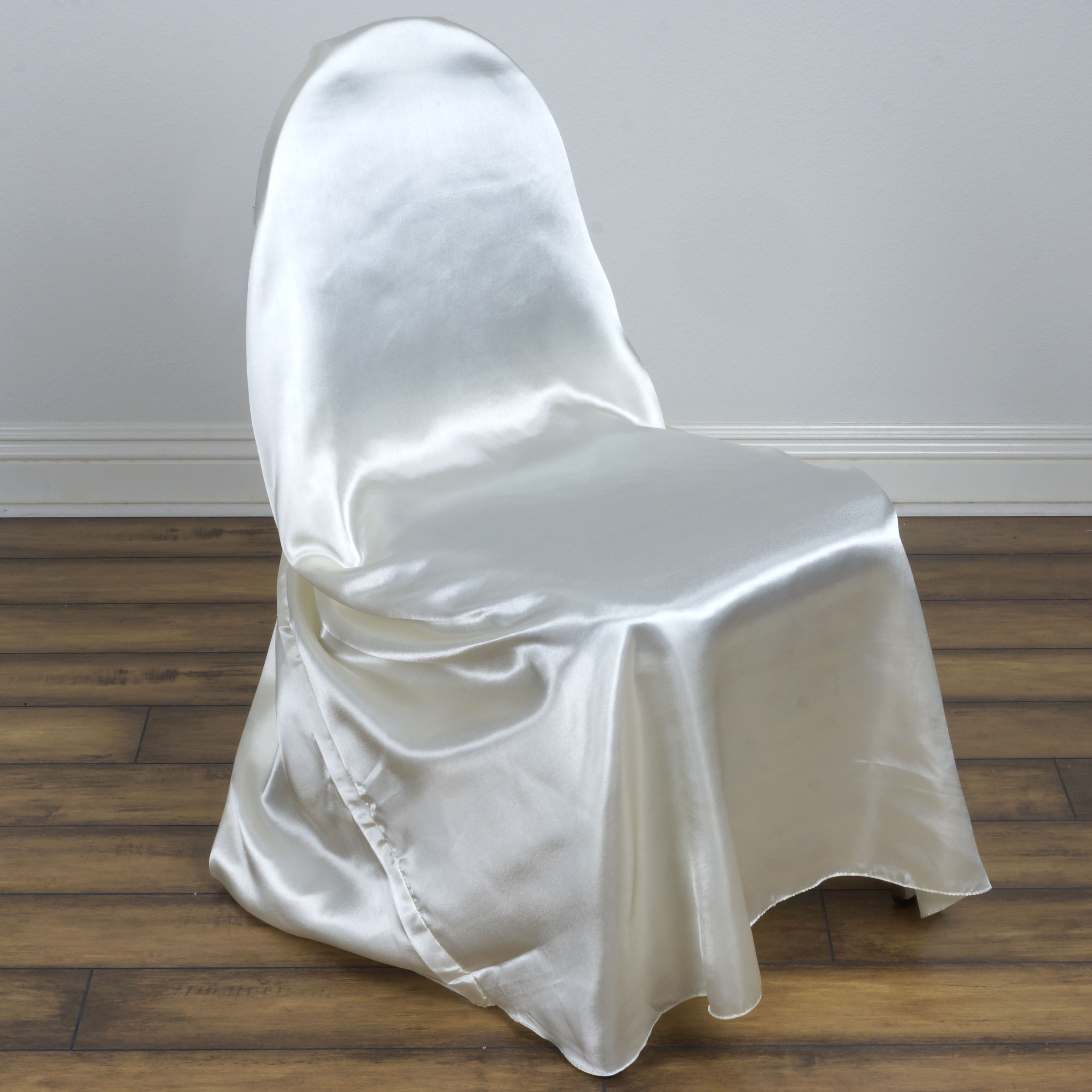 Chair Covers For Wedding 100 Pcs Satin Universal Chair Covers Wholesale Wedding