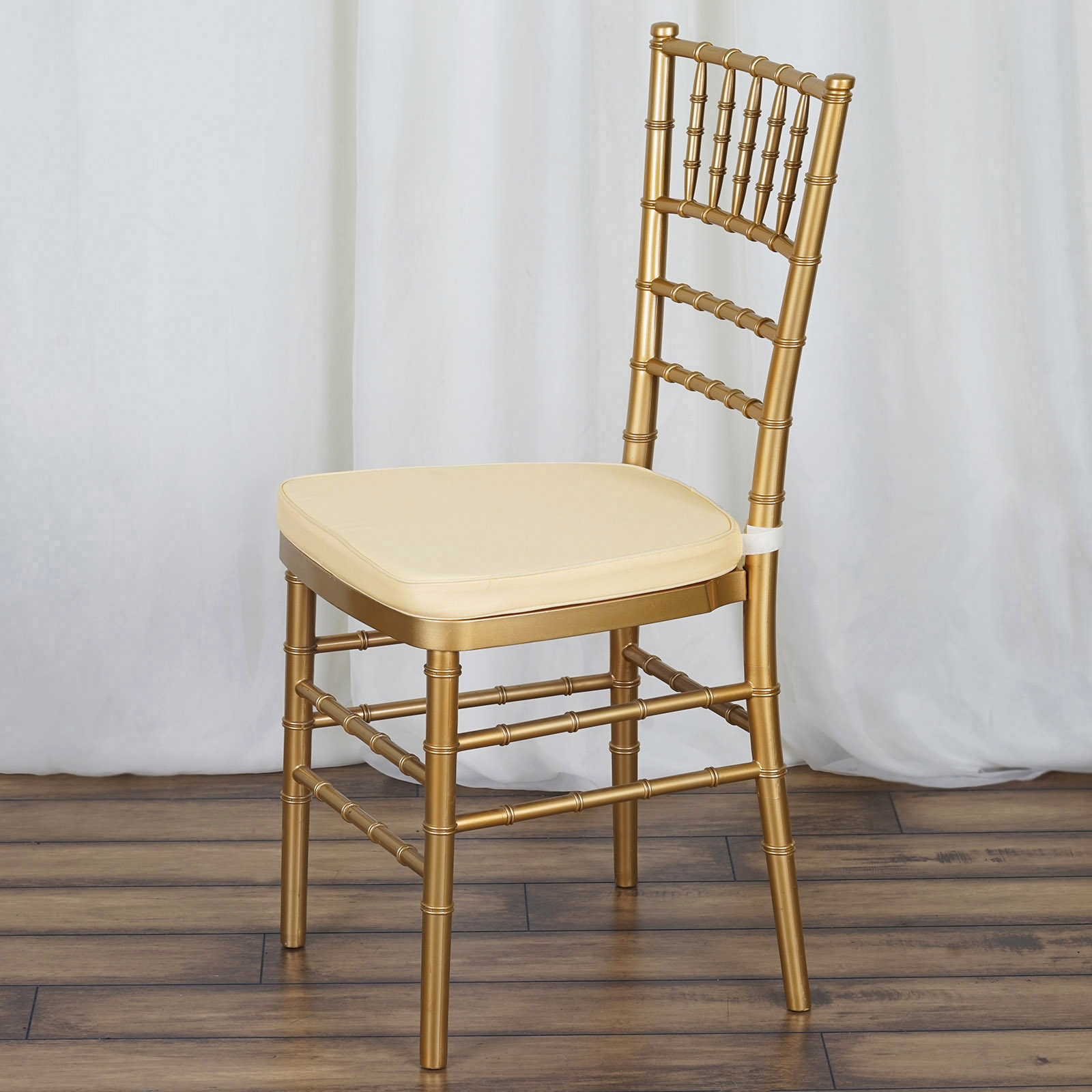chiavari chairs wedding ceremony industrial metal 10 pcs polyester cushions for chair