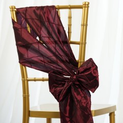 Where To Buy Chair Sashes Fishing Feeder Arm 10 Pintuck Taffeta Ties Bows Wedding Party