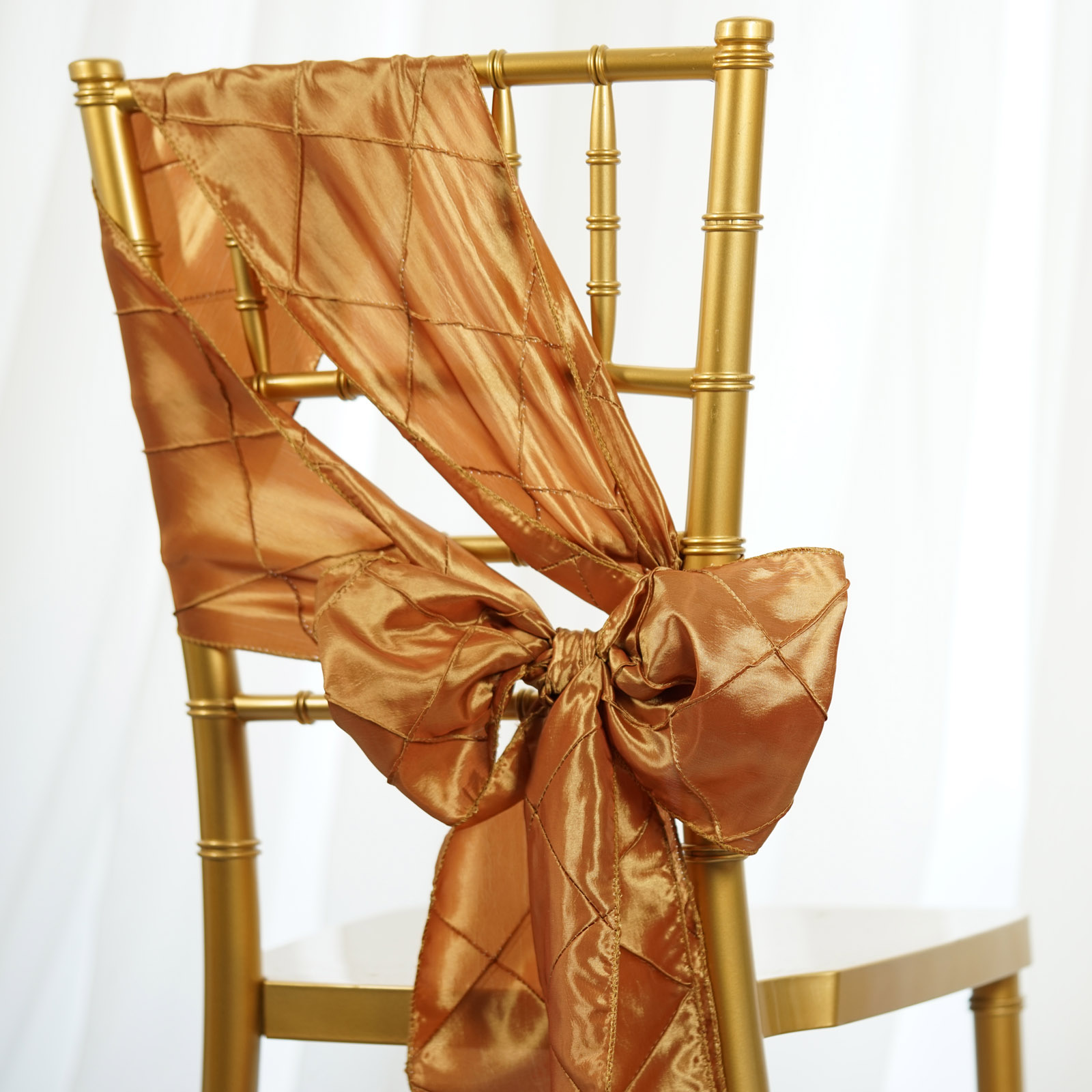 where to buy chair sashes dining covers etsy 20 pintuck taffeta ties bows wedding party