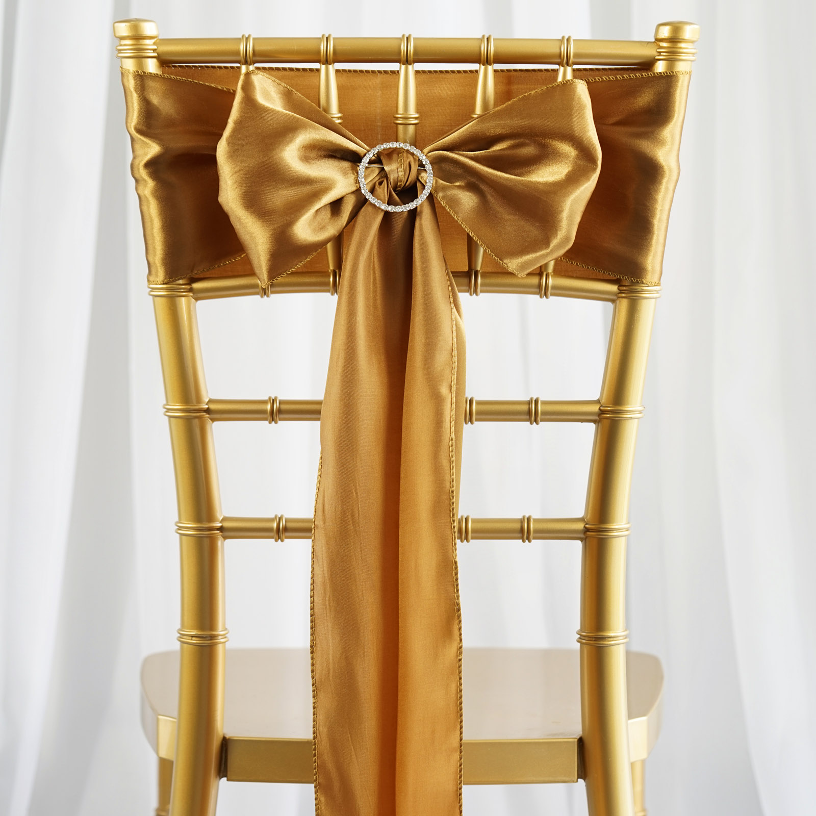 Chair Bows 40 Satin Chair Sashes Ties Bows Wedding Party Ceremony