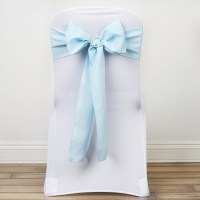 150 Polyester CHAIR SASHES Ties Bows Wedding Party ...