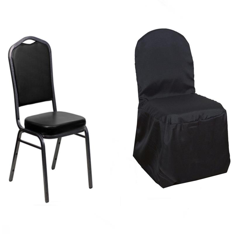black spandex chair covers amazon swivel office with wheels 100 pcs polyester banquet wedding reception