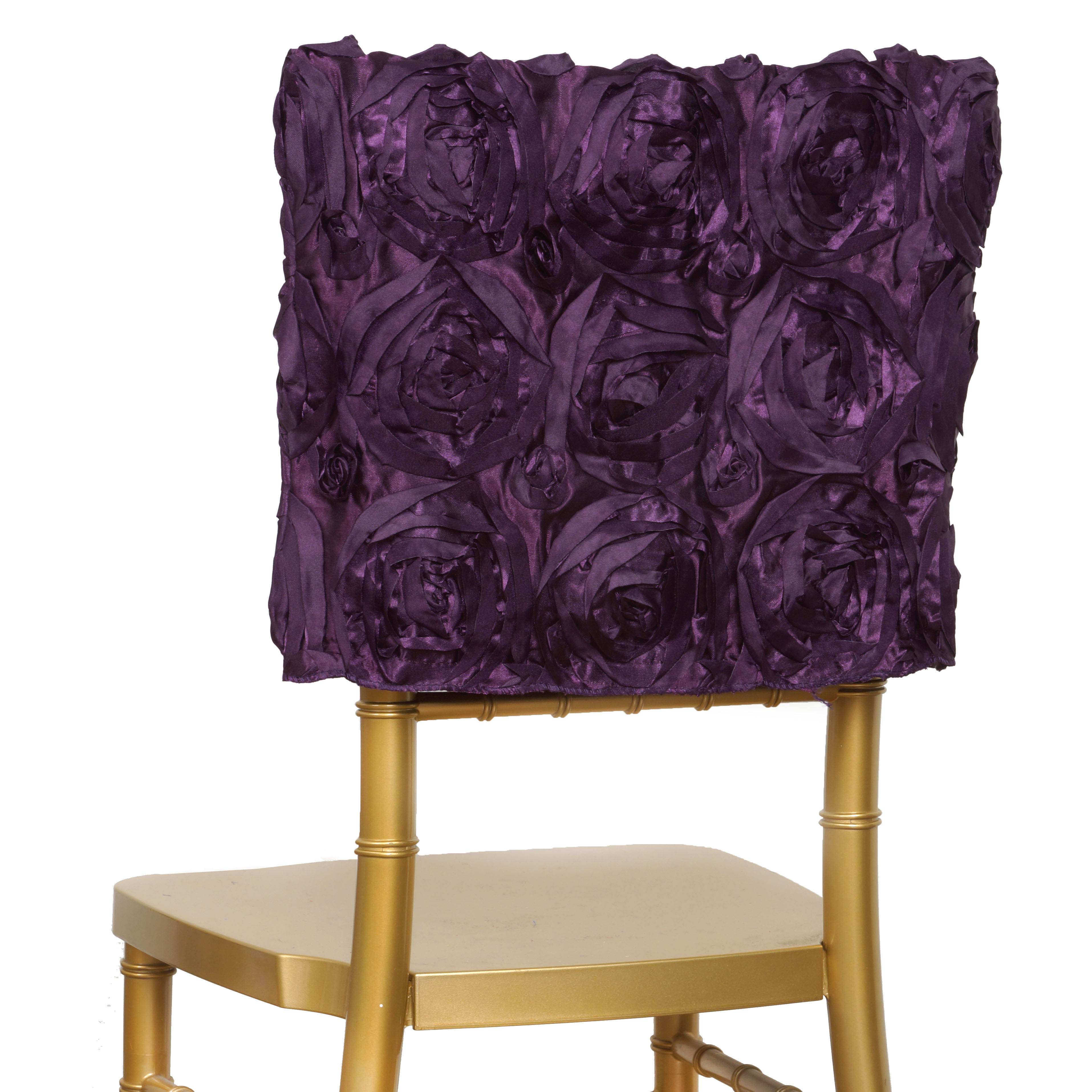 cheap chair cover decorations covers for weddings 100 pcs satin ribbon roses square cap wedding