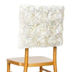 Decorative Chair Covers Wedding Extreme Gaming 100 Pcs Satin Ribbon Roses Square Cap