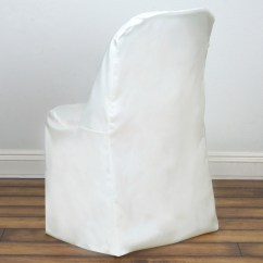 Cheap Chair Covers For Party Diamond Replica Polyester Folding Flat Banquet Wedding