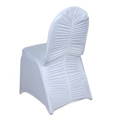 Cheap Black Chair Covers For Sale With Footstool Ruched Spandex Banquet Wedding Party Supplies