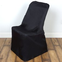 10 pcs LIFETIME Folding CHAIR COVERS Slipcovers Polyester ...