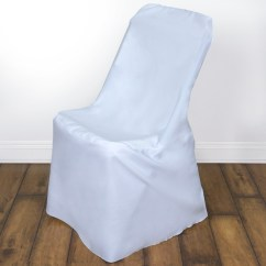 Folding Chair Covers For Wedding Wheelchair Bed 25 Pcs Lifetime Slipcovers Polyester