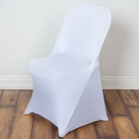 50 pcs Spandex Fitted Folding CHAIR COVERS for Wedding ...