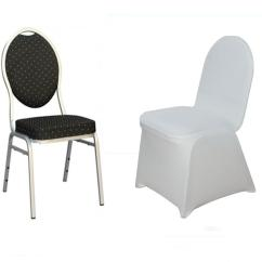 Ivory Spandex Chair Covers For Sale Wedding Hire Ayrshire 10 Pcs Elastic Stretchable