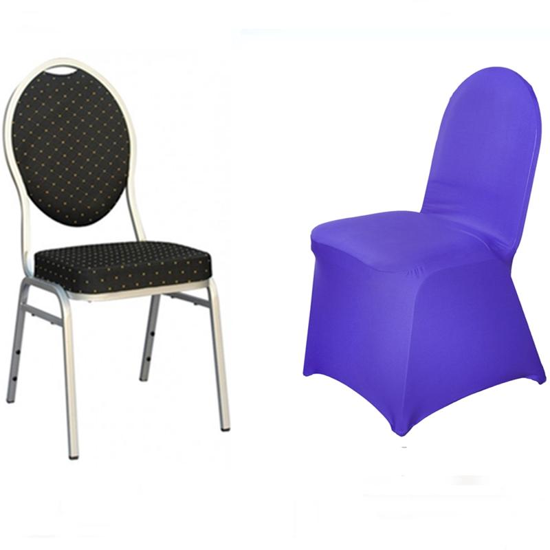 spandex lycra chair cover for wedding party retro kitchen chairs sale 100 pcs stretchable covers