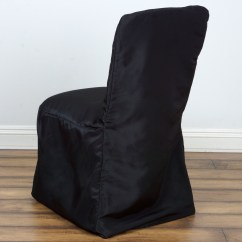 Chair Back Covers Wedding Swivel Sling Patio Chairs Polyester Square Chivari Party
