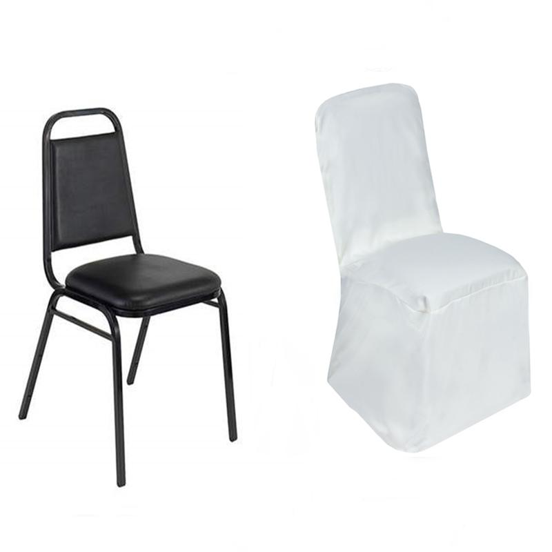 Cheap Chair Covers Polyester Square Back Chivari Chair Covers Wedding Party