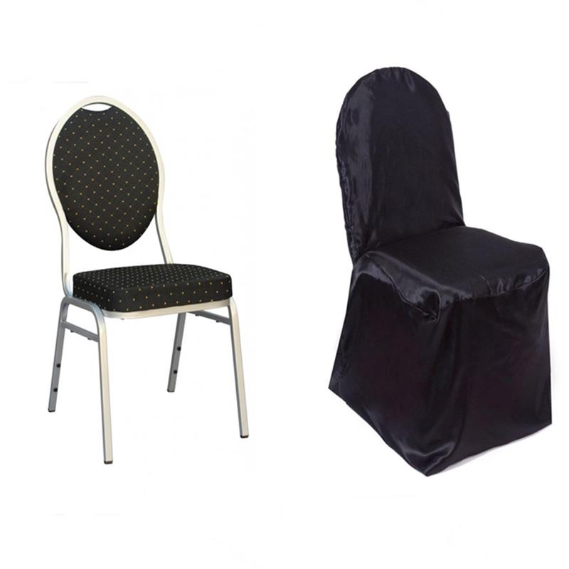 Cheap Chair Covers Satin Banquet Chair Covers Wedding Reception Party