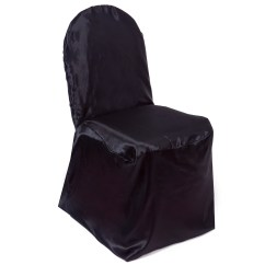 Banquet Chair Covers Ebay Swivel Leg Tips Satin Wedding Reception Party