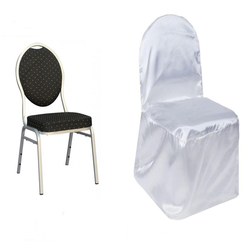 cheap chair covers for party massage power adapter satin banquet wedding reception