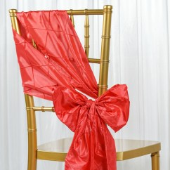 Coral Sashes For Wedding Chairs Wheelchair Jet Airways 100 Pintuck Chair Bows Ties Party