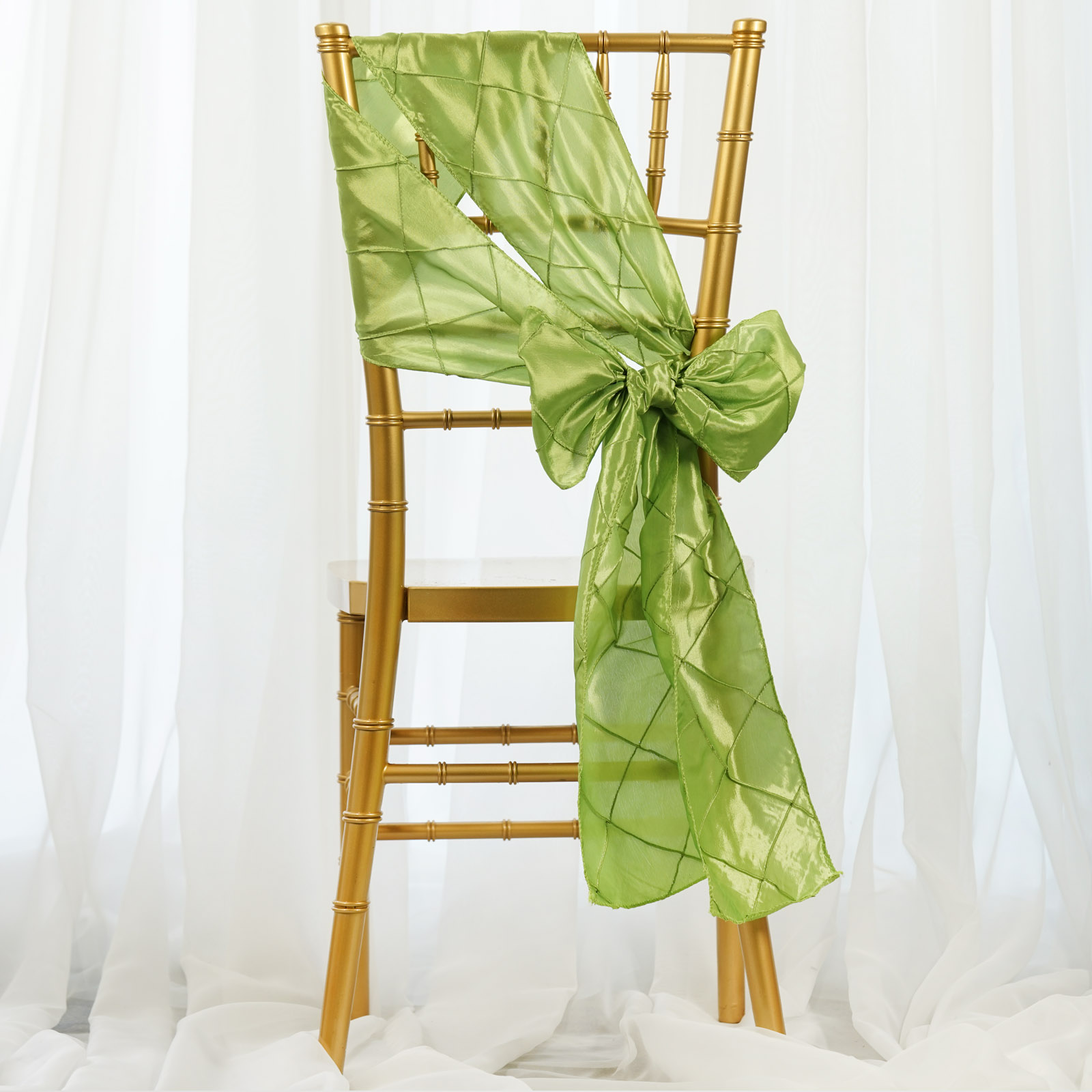 Chair Sashes For Sale 50 Pintuck Chair Sashes Bows Ties For Wedding Party