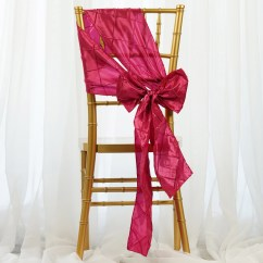 Where To Buy Chair Sashes Kitchen Tall Chairs 100 Pintuck Bows Ties For Wedding Party