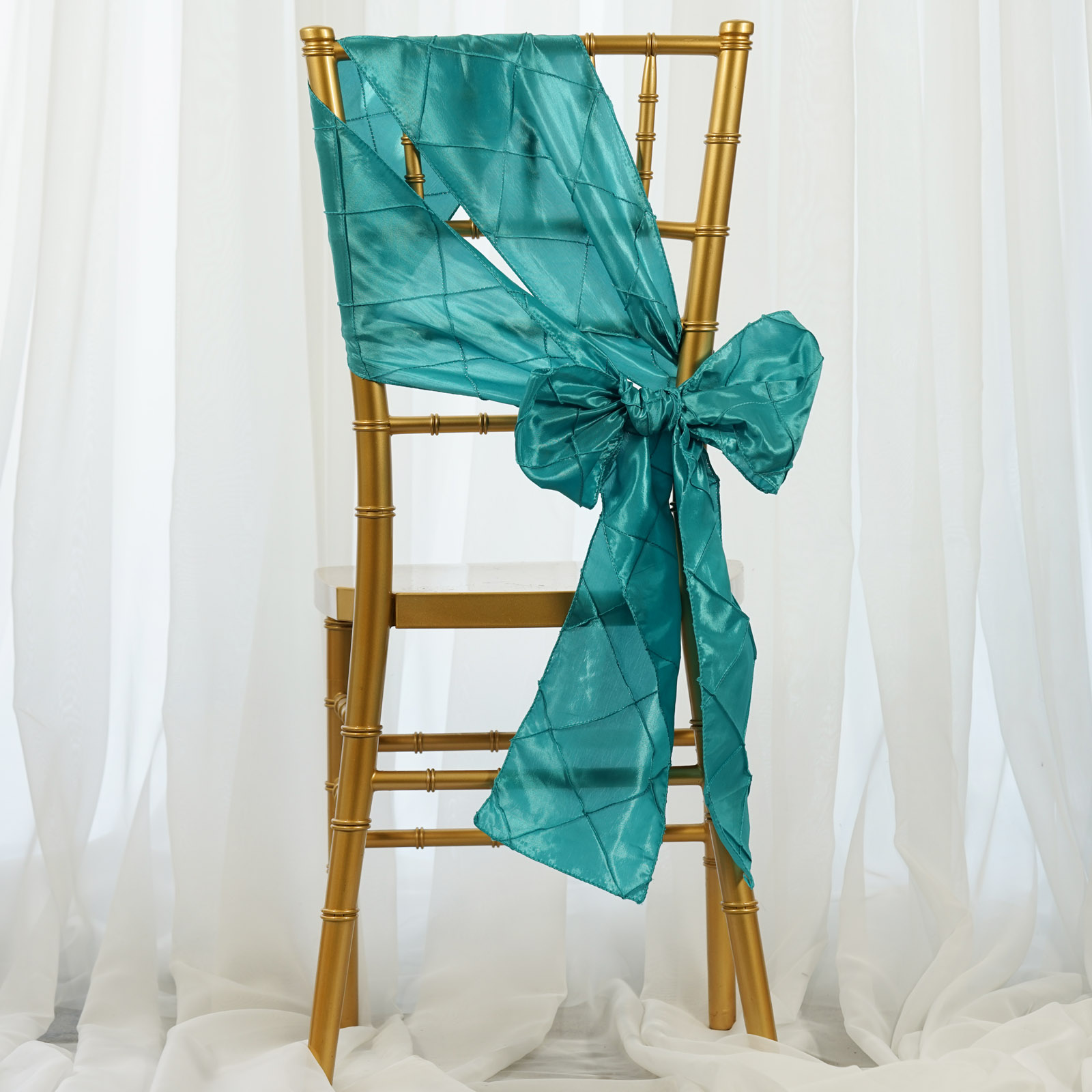 Chair Sashes For Sale 100 Pintuck Chair Sashes Bows Ties For Wedding Party