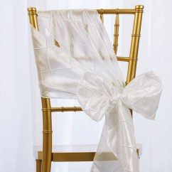 Wedding Chair Sash Dinette Table And Chairs 10 Pintuck Sashes Bows Ties For Party
